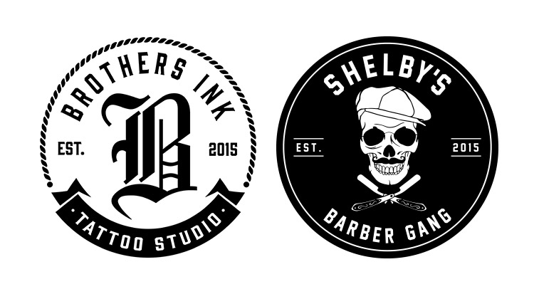 Shelbys barber gang and brothers ink tatoos new plymouth